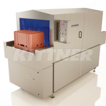 Waschmaschinen für Kisten und Paletten