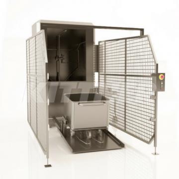 Waschmaschinen für Beschickungswagen