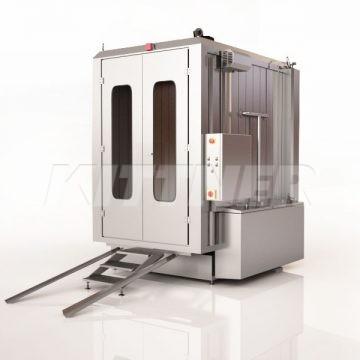 Waschmachine für Rauchwagen